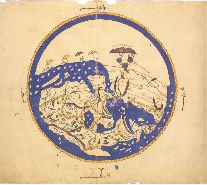 Al Idrisi's World Map: